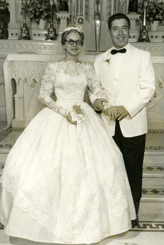 Dorothy and Rodger got married in 1960.